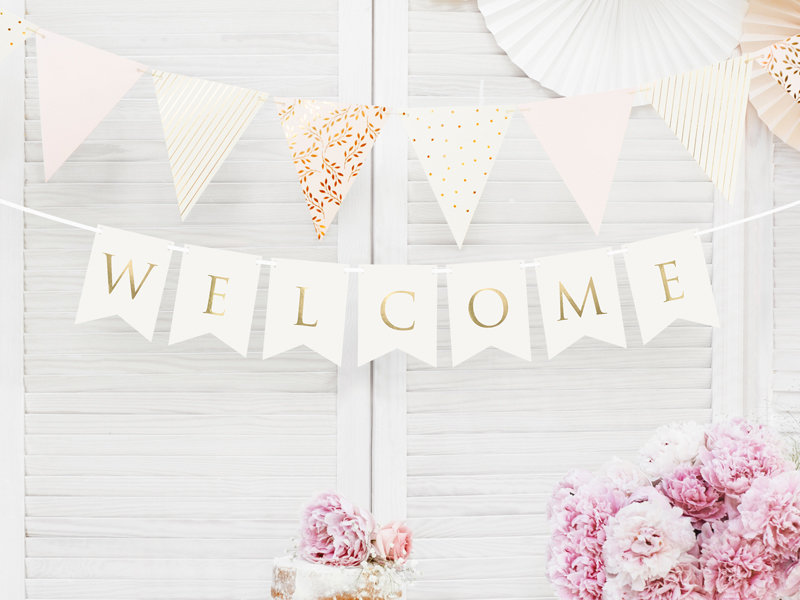 "Baneris ""Welcome"""