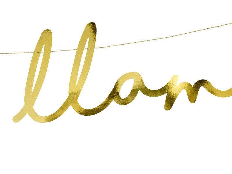 """Baneris """"Lalala Llama"""", 82 cm"""