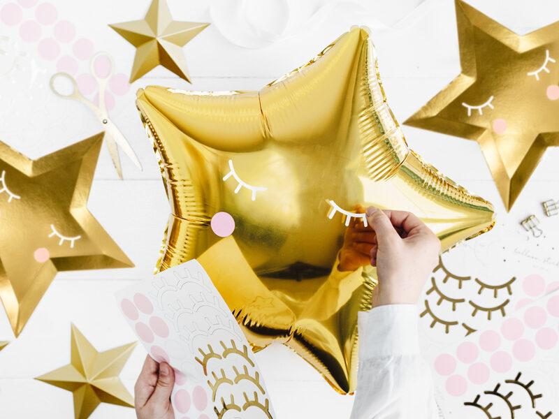 Uzlīmes balonu dekorēšanai