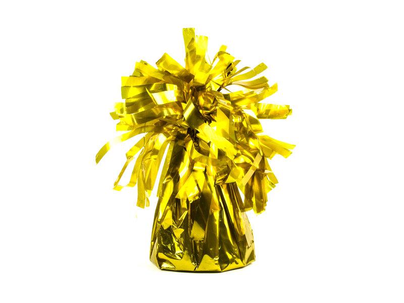 Balonu atsvars zelta krāsā.
