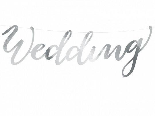"Baneris ""Wedding"", sudrabs"