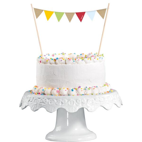 "Tortes toperis ""Lapsa un Bebris"", 15 x 20 cm"