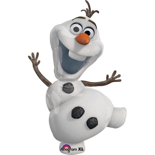"Folija balons ""Frozen - Olafs"", 58 x 104 cm"