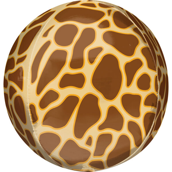 """Folija balons ORBZ """"Žirafe"""", apaļš, 40 cm"""