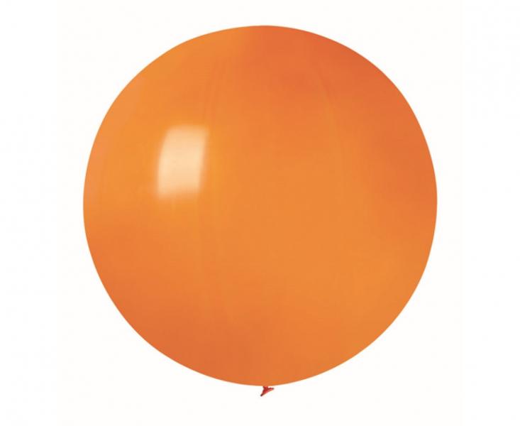 60 cm lateksa balons, oranžā krāsa, Gemar - 1 gb.