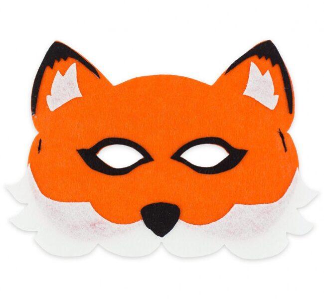 "Filca maska ""Lapsa"", 18 x 12 cm, 1 gb"