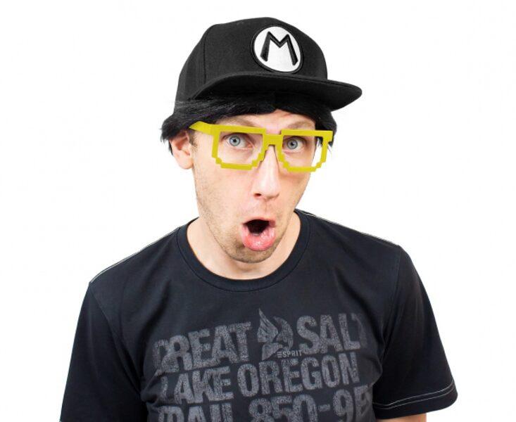 """Brilles """"Pikseļi"""", dzeltenā krāsa"""