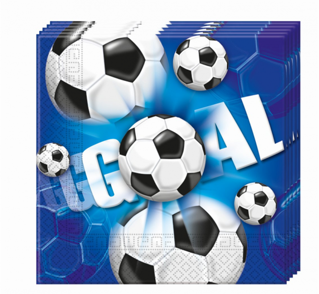"Salvetes ""Futbols - GOAL"", 20 gb"