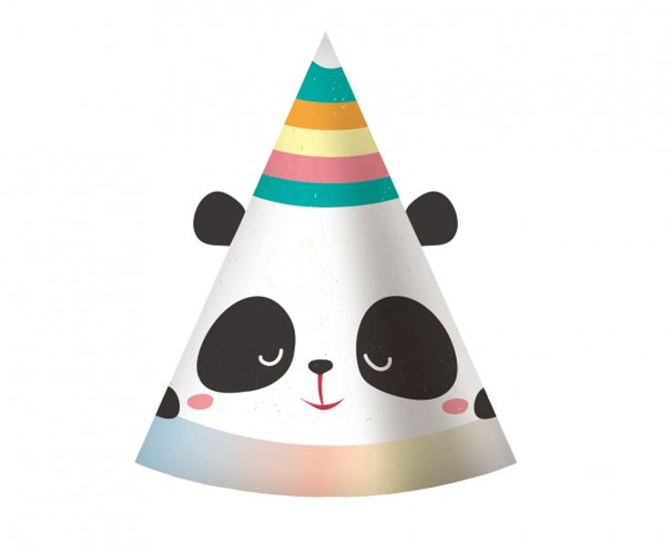 """Papīra cepures """"Pandas sapnis"""", 6 gb"""