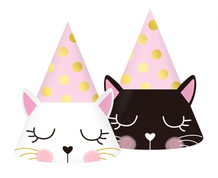"""Papīra cepures """"Kaķīši"""", 6 gb"""