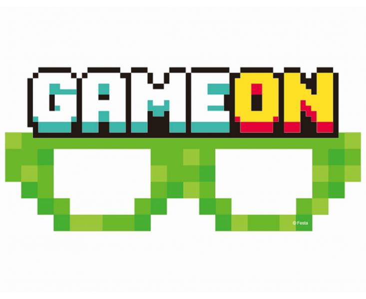 "Papīra brilles ""Game on"", 6 gb"