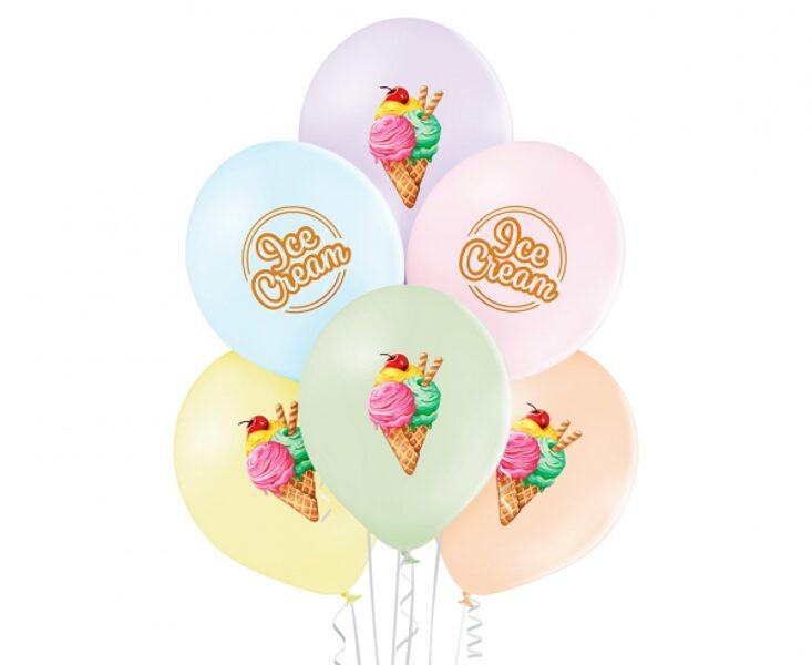 """30 cm lateksa balons """"Saldejums"""" - 1 gb."""