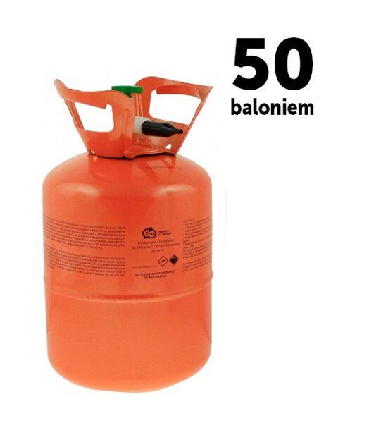 Hēlija gāzes balons 50 baloniem