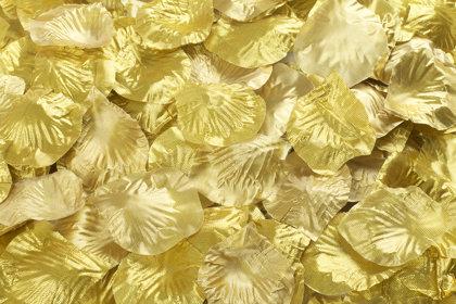 Ziedlapiņas, zelta krāsa, 100 gb