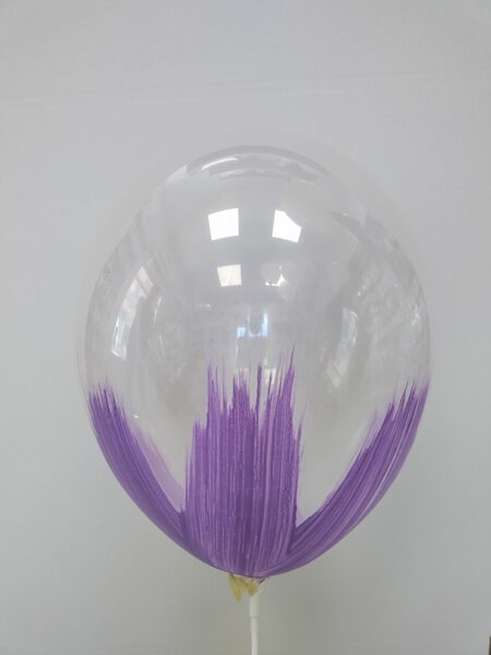 BRUSH baloni 30cm, lavandas krāsā