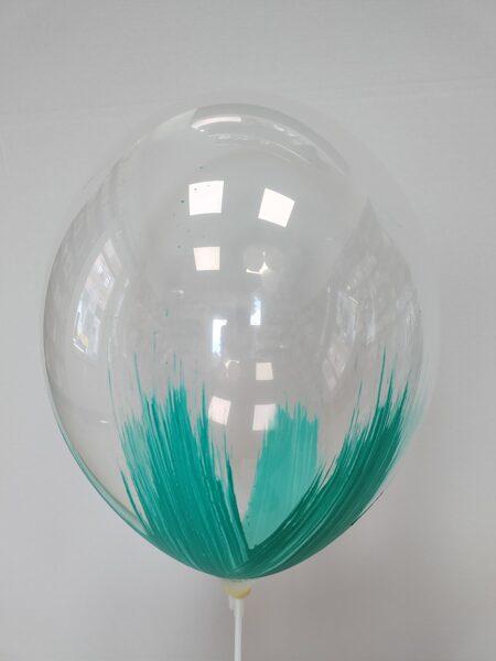 BRUSH baloni 30cm, mint krāsā