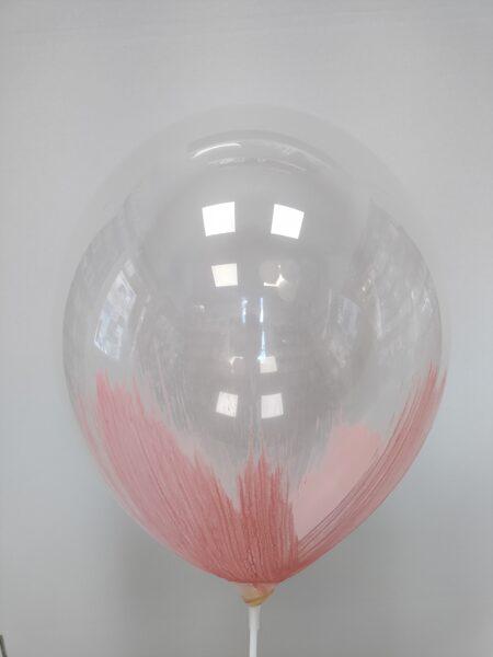 BRUSH baloni 30cm, gaiši rozā krāsā