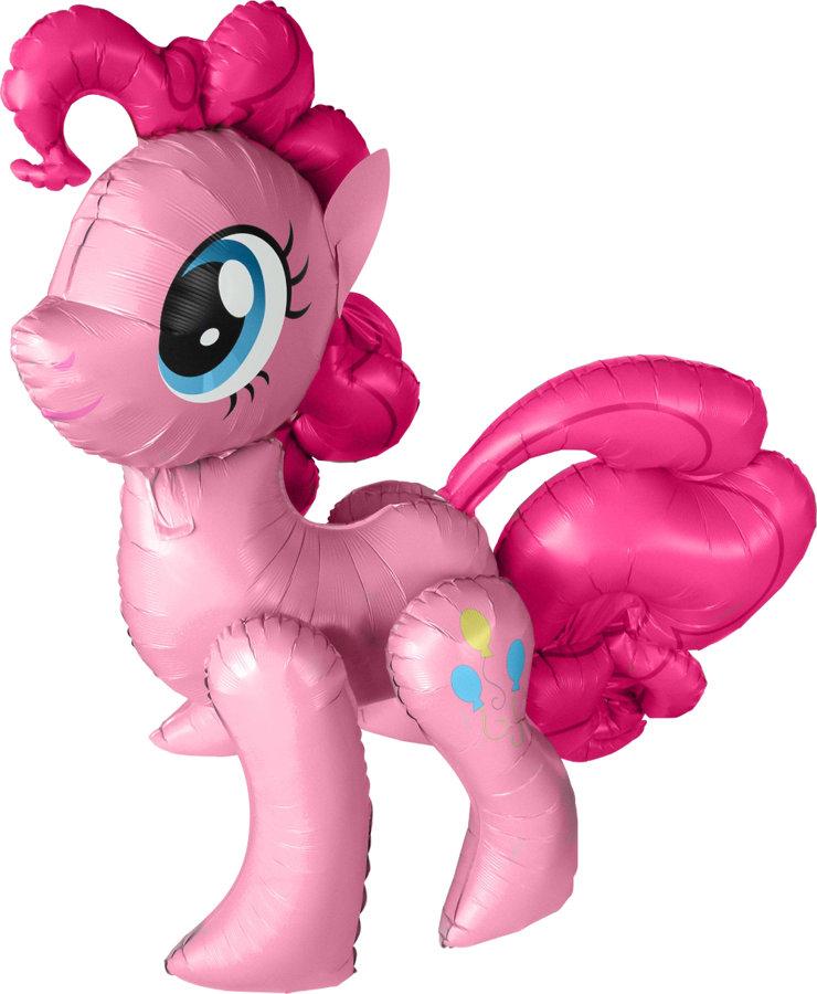 """Staigājošais folija balons """"My little pony Pinkie Pie"""", 114 cm x 119 cm"""