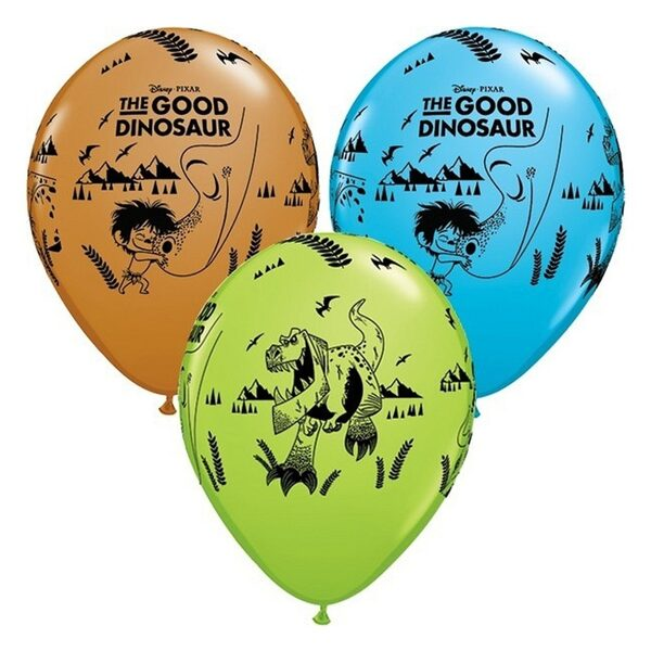 "28 cm lateksa balons ""Labais dinozaurs"" - 1 gb."