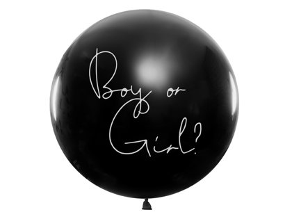 "Balons bērna dzimuma paziņošanai - ""Boy or Girl?"" - 1 m"