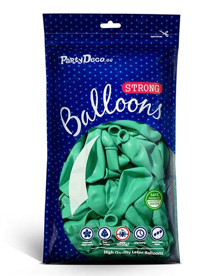 Balonu iepakojums, 100 gb., 30 cm, mint krāsa