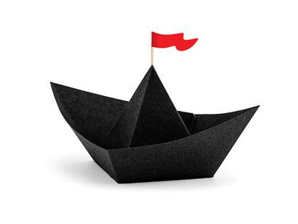 """Papīra dekors """"Pirates Party"""", laivas"""