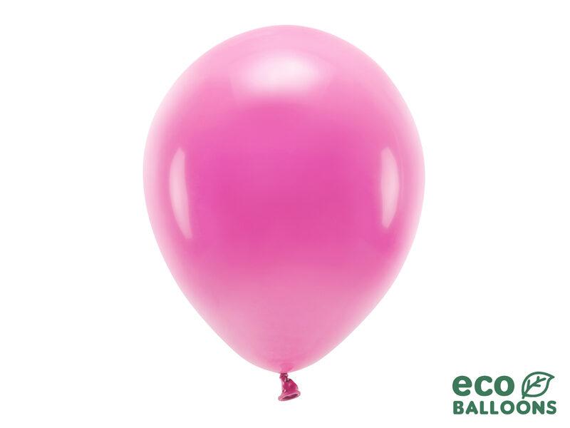 30 cm Eco balons, spilgti rozā krāsa- 1 gb.