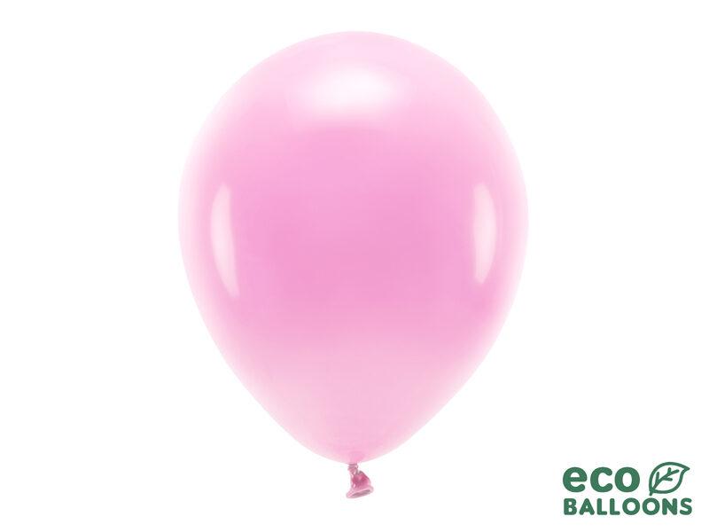 30 cm Eco balons, rozā krāsa - 1 gb.