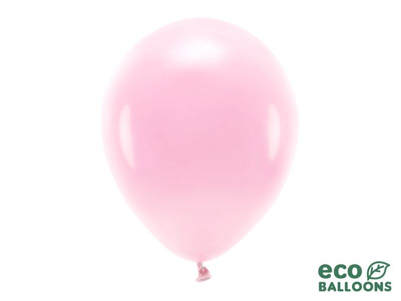 30 cm Eco balons, gaiši rozā krāsa - 1 gb.