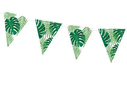 Virtene ar palmu lapam