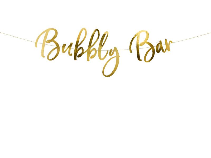 """Baneris """"Bubbly Bar"""""""