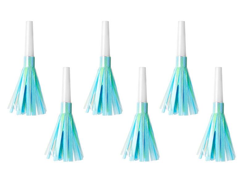 Svilpītes, gaiši zilā krāsa, 6 gb