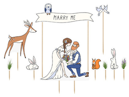 "Kūku toperi ""Marry Me"""