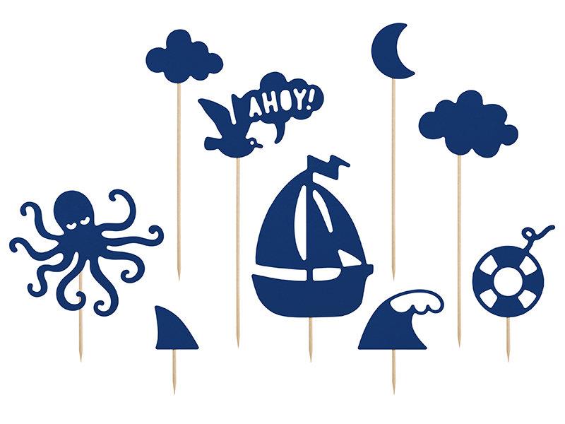 """Kūku toperi jūras temā """"Ahoy"""", 9 gb"""