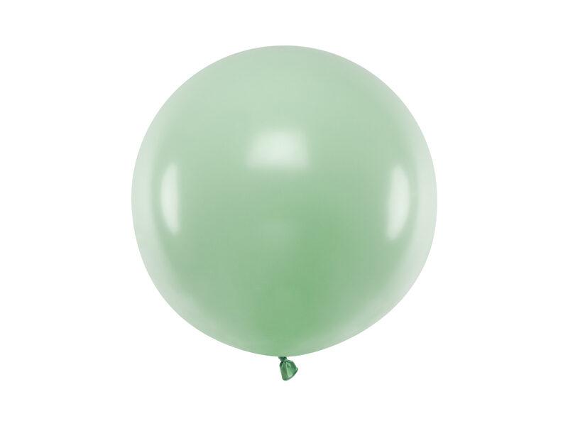 60 cm lateksa balons, pistāciju krāsa - 1 gb.