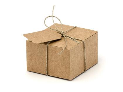 Kraft papīra kastītes, 10 gb