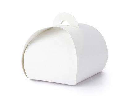 Kastītes baltā krāsā