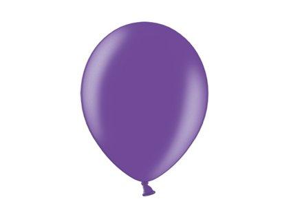 30 cm perlamutra balons, violetā krāsa - 1 gb.