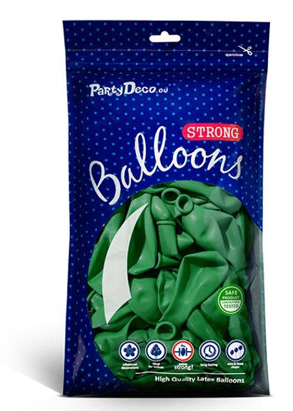 Balonu iepakojums, 100 gb., 30 cm, zaļā krāsa