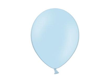 30 cm perlamutra balons, gaiši zilā krāsa - 1 gb.