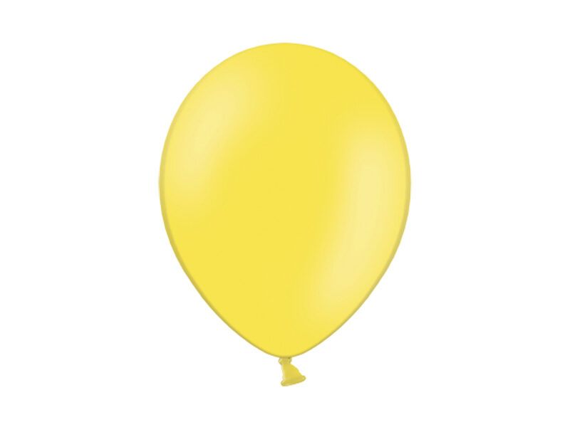 27 cm balons, citronu krāsa - 1 gb.