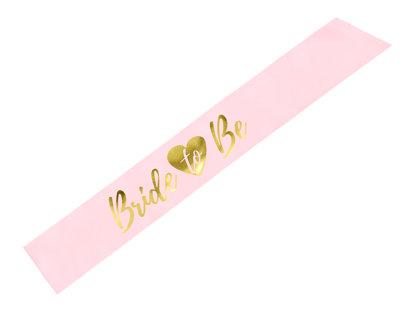 Topošās līgavas lente rozā krāsā
