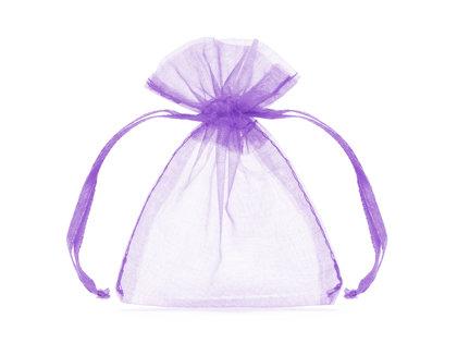 Organzas maisiņi, lavandas krāsā, 20 gb