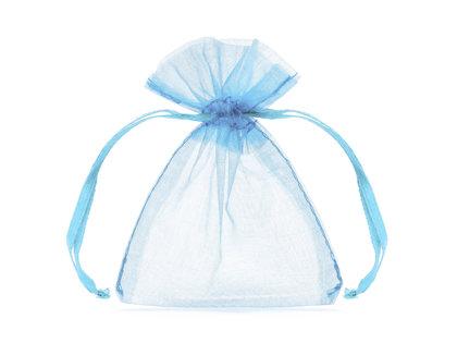 Organzas maisiņi, gaiši zilā krāsā, 20 gb