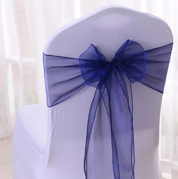 Krēslu lentes, zilā krāsā, 16 x 290 cm, 10 gb