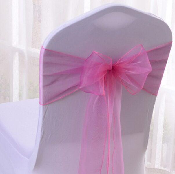 Krēslu lentes, rozā krāsā, 16 x 290 cm, 10 gb