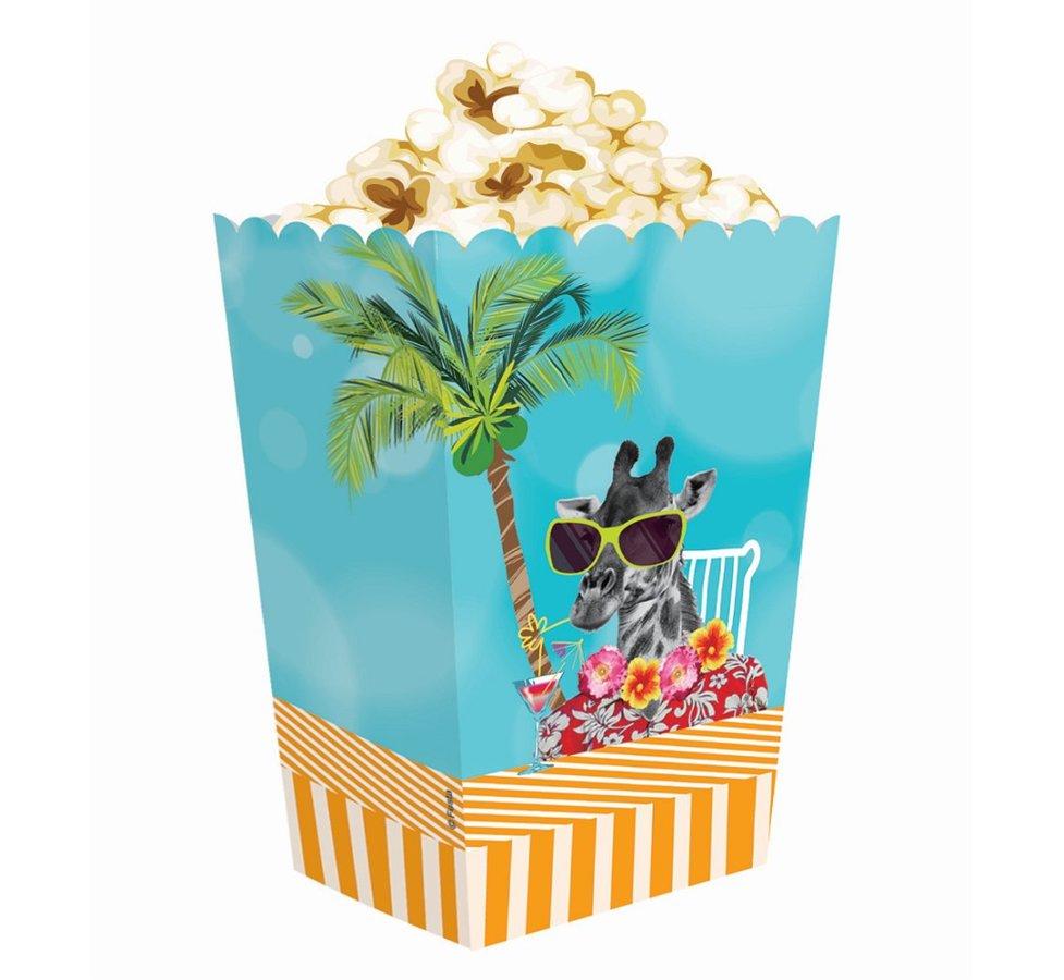 """Papīra popkorna trauki """"Hawaii Party"""""""