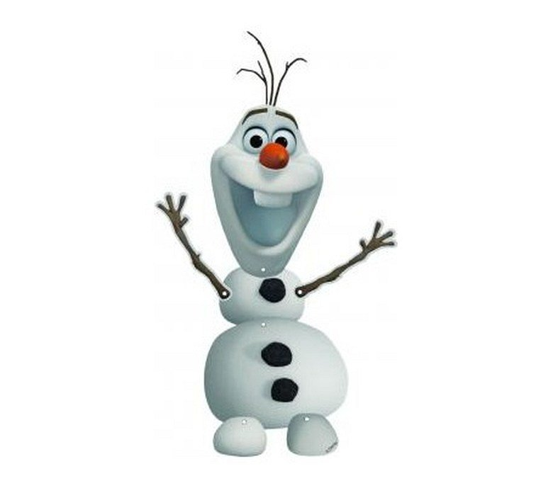 "Piekaramais dekors ""Frozen"", Olafs"