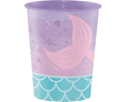 """Plastika glāze """"Nariņa"""" 473 ml, vairākkārtējai lietošanai, 1 gb"""