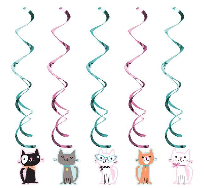 """Piekaramais dekors """"Kaķīši"""", 99 cm, 5 gb"""